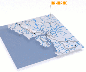 3d view of Kawkame