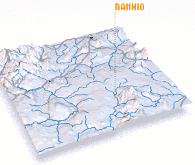3d view of Namhio
