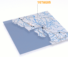 3d view of Yetagun