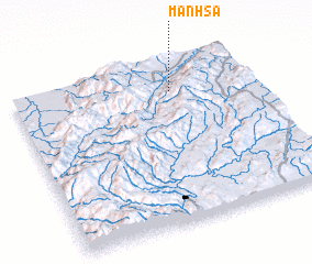 3d view of Mān Hsa