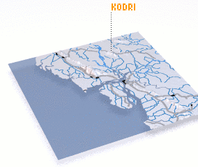 3d view of Kodri