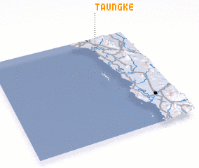 3d view of Taungke