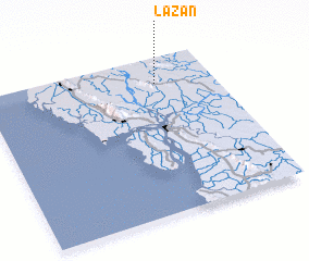 3d view of Lazan