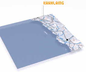 3d view of Kawhlaing