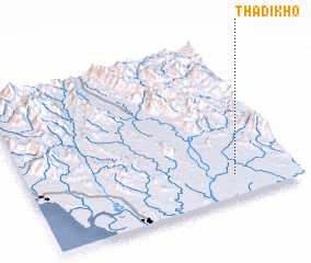 3d view of Thadikho