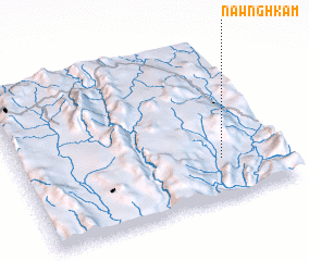 3d view of Nawnghkam