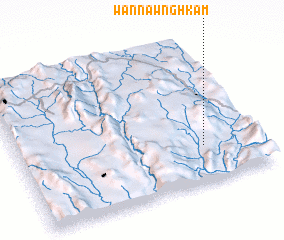 3d view of Wān Nawnghkam