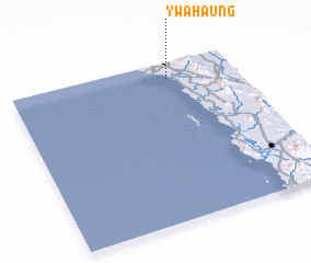 3d view of Ywahaung