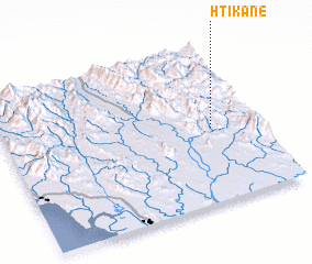 3d view of Htikane