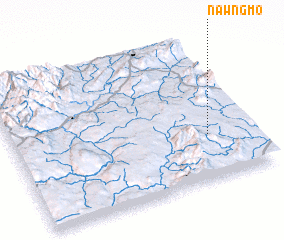 3d view of Nawng-mo