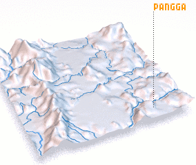 3d view of Pang Ga