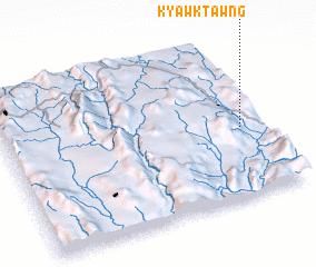 3d view of Kyawktawng