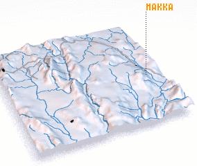 3d view of Makka