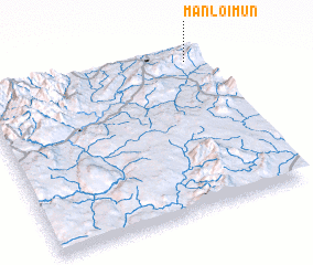 3d view of Mān-loi-mun