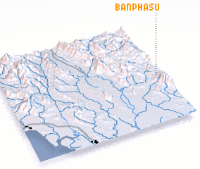 3d view of Ban Pha Su
