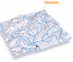 3d view of Mān Hang
