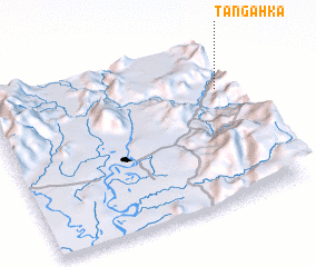 3d view of Tangahka