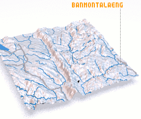 3d view of Ban Mon Talaeng