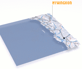 3d view of Myaingkon
