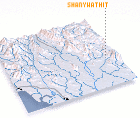3d view of Shan-ywathit