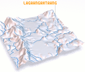 3d view of Lagawn Gahtawng