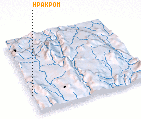 3d view of Hpakpom