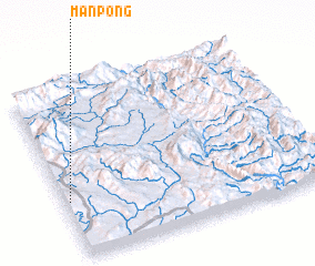 3d view of Mān Pong