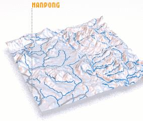 3d view of Mān Pong