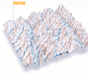 3d view of Makaw