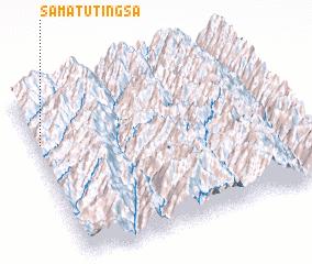 3d view of Samātu Tingsa