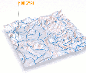 3d view of Möng Yai