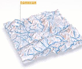3d view of Namhkam