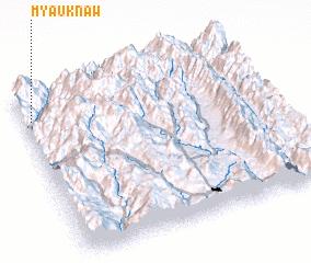 3d view of Myauknaw