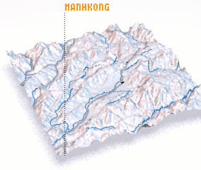 3d view of Mān Hkong