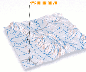 3d view of Myaukkwinbyu