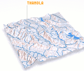 3d view of Thamola