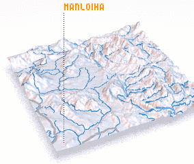 3d view of Mān Loi-ha