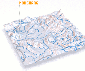 3d view of Möng Kang