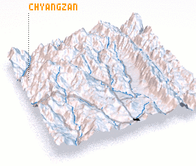3d view of Chyangzan