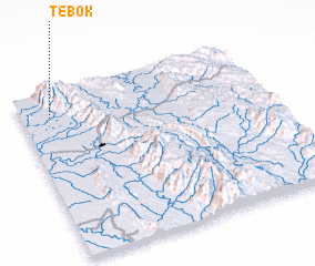 3d view of Tebok