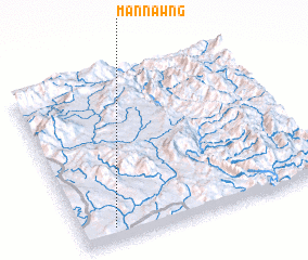3d view of Mān Nawng
