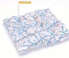 3d view of Mān Na-wi