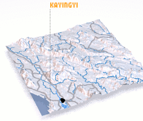 3d view of Ka-yin-gyi
