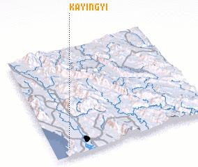 3d view of Ka-yin-gyi
