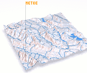 3d view of Metke