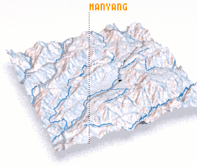 3d view of Mān Yang