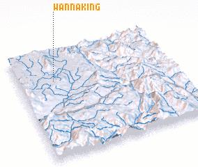 3d view of Wān Nā-king