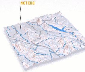 3d view of Meteke