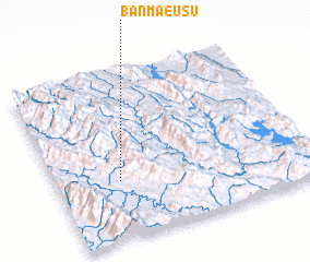 3d view of Ban Mae Usu