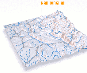 3d view of Wān Konghak